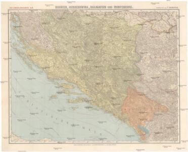 Bosnien, Herzegowina, Dalmatien und Montenegro