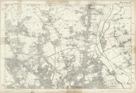 Middlesex XII - OS Six-Inch Map
