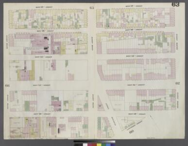 Plate 63: Map bounded by West 17th Street, Eighth Avenue, West 13th Street, Gansevoort Street, West 12th Street, Tenth Avenue