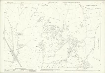 Middlesex VI.10 (includes: Hendon) - 25 Inch Map