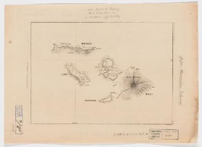 Wm. T. Brigham on Hawaiian volcanoes : Molokai, Lanai, Kahoolawe, Maui