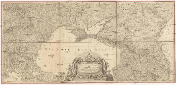 Carte de la partie septentrionale de l'Empire Otoman