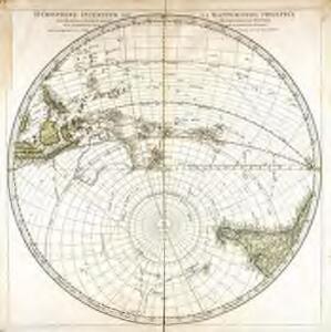 Hémisphère inférieur de la mappemonde