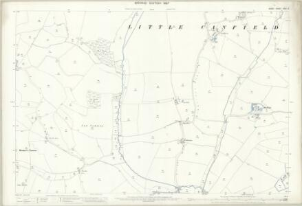 Essex (1st Ed/Rev 1862-96) XXXII.3 (includes: Great Canfield; Little Canfield) - 25 Inch Map