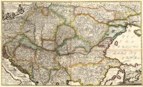 Accurate Landkarte die Königreiche