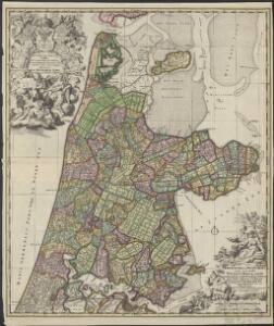 Kennemaria et Westfrisia vulgo et vernacule Noord-Holland tam in minores quam praecipuas ditiones