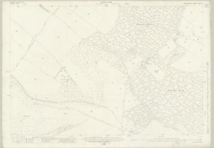 Oxfordshire XLVII.15 (includes: Pyrton; Shirburn; Watlington) - 25 Inch Map
