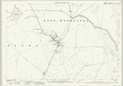 Dorset X.5 (includes: Martin; Pentridge) - 25 Inch Map