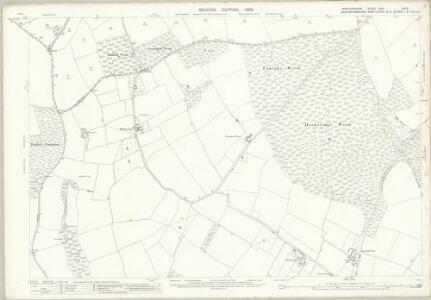 Hertfordshire XXXII.12 & 11 (includes: Ashley Green; Berkhampstead Urban; Chartridge; Cholesbury Cum St Leonards; Northchurch; Wigginton) - 25 Inch Map