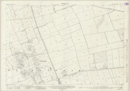 Nottinghamshire VII.7 (includes: Beckingham; Walkeringham) - 25 Inch Map