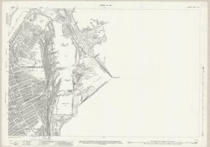 Durham VIII.15 (includes: Sunderland) - 25 Inch Map