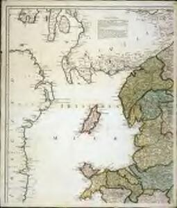 Karte von England und Wallis, 1