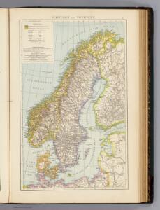 Schweden, Norwegen.