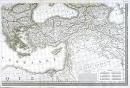 Carte d'Europe ou sont tracées les limites des empires, royaumes, et etats souverains, feuille 6