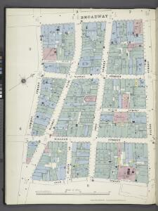 Manhattan, V. 1, Plate No. 6 south half [Map bounded by Broadway, Fulton St., Gold St., Liberty St.]