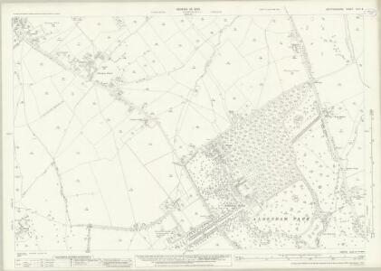 Hertfordshire XLIV.4 (includes: Aldenham; Bushey) - 25 Inch Map
