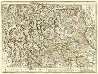 Le Piemont, et le Monferrat
