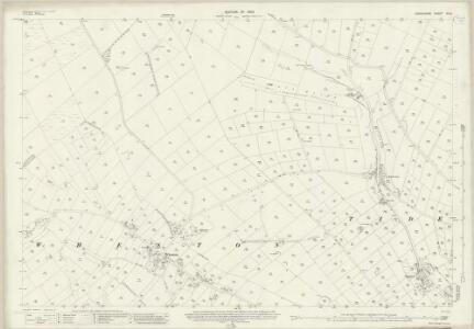 Derbyshire XV.8 (includes: Tideswell; Wheston; Wormhill) - 25 Inch Map