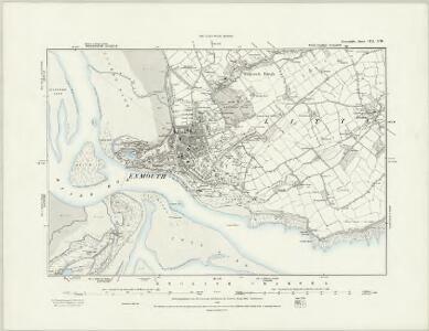 Devonshire CIII.SW - OS Six-Inch Map