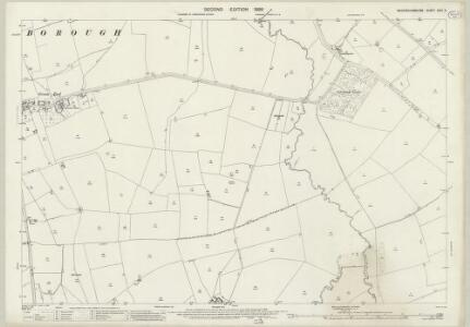 Buckinghamshire XXIII.2 (includes: Granborough; Hoggeston; North Marston; Oving; Swanbourne) - 25 Inch Map