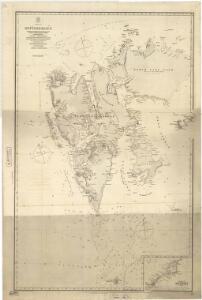 Spesielle kart 83:  Spitzbergen og Jan Mayen, Swedisch ekspedition