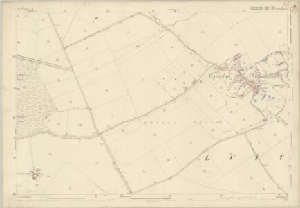 Huntingdonshire VIII.8 (includes: Ashton; Lutton; Polebrook; Warmington) - 25 Inch Map
