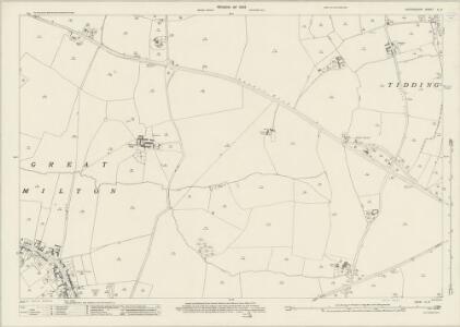Oxfordshire XL.8 (includes: Great Milton; Tiddington with Albury) - 25 Inch Map