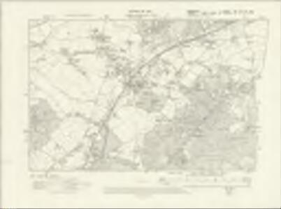 Hampshire & Isle of Wight LIII.NW & NE - OS Six-Inch Map
