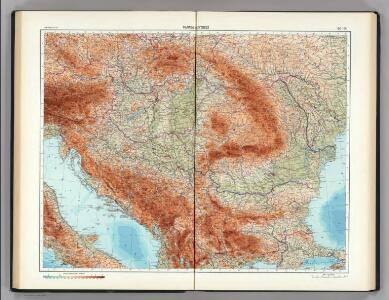 90-91.  Danube Countries.  The World Atlas.