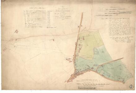 Plan of Baron Norton's Feu at Norton Place.