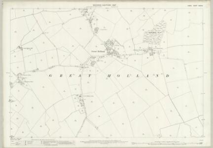 Essex (1st Ed/Rev 1862-96) XXXIX.9 (includes: Frinton and Walton) - 25 Inch Map