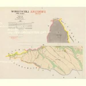 Worlitschka (Worliczka) - c5512-1-001 - Kaiserpflichtexemplar der Landkarten des stabilen Katasters
