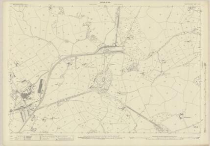 Carmarthenshire LVIII.4 (includes: Llanelly Rural; Llangennech) - 25 Inch Map
