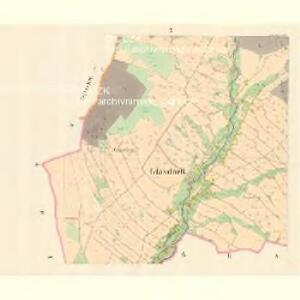 Glasdörf (Sklena Wes) - m2733-1-007 - Kaiserpflichtexemplar der Landkarten des stabilen Katasters