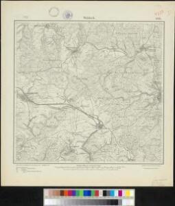 Meßtischblatt 2732 : Waldeck, 1914