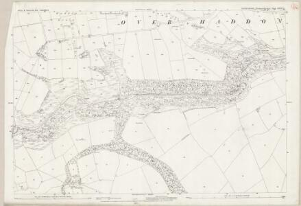Derbyshire XXVIII.2 (includes: Monyash; Over Haddon; Youlgreave) - 25 Inch Map
