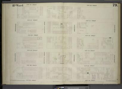 [Plate 79: Map bounded by East 32nd Street, Second Avenue, East 27th Street, Fourth Avenue.]