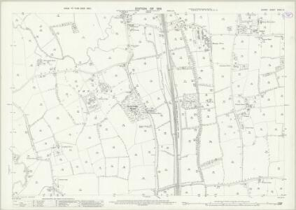 Surrey XXXIV.12 (includes: Horley) - 25 Inch Map
