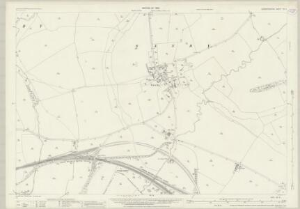 Leicestershire XX.8 (includes: Freeby; Garthorpe; Wymondham) - 25 Inch Map