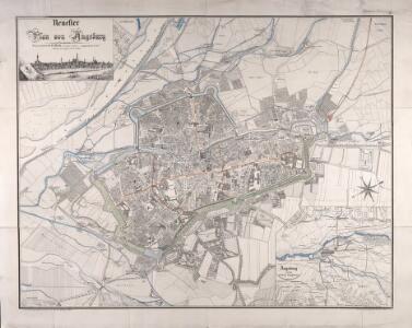 Neuester Plan von Augsburg