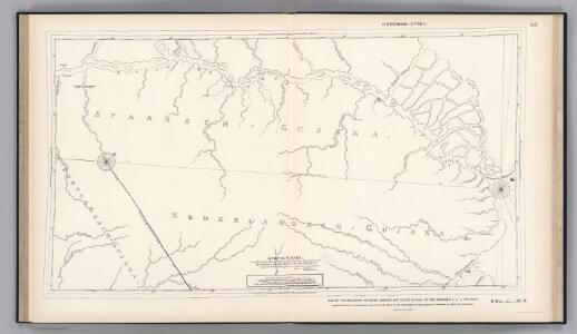 Boundary-line of Spanish and Dutch Guinana by Heneman.