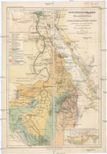 Phyto-geographische Karte des Nilgebietes und der Uferländer des Rothen Meeres
