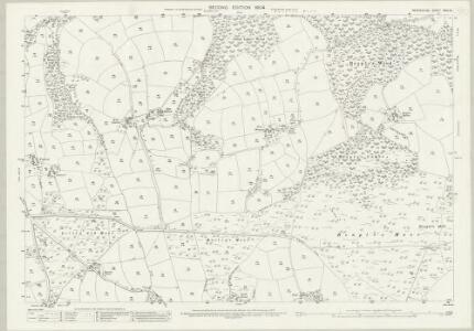 Devon XXIII.13 (includes: Knowstone; Rose Ash) - 25 Inch Map