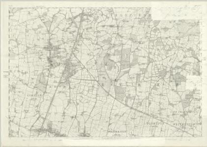 Sussex XXXIX - OS Six-Inch Map
