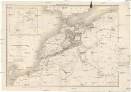 Carte de l'empire de Maroc