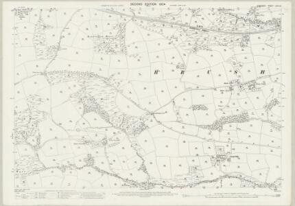 Somerset LXVII.10 (includes: Brushford; Dulverton; Oakford) - 25 Inch Map