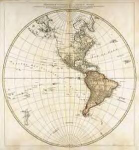 Hémisphère occidental ou du nouveau monde
