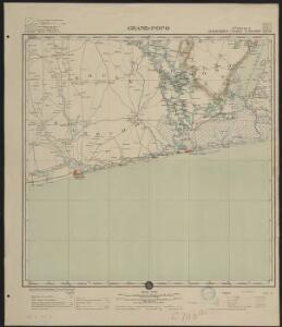 Afrique occidentale française-carte régulière. Grand-Popo