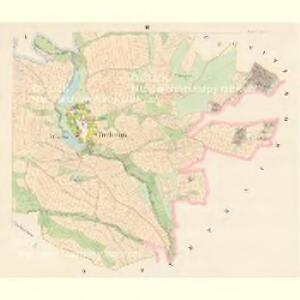 Tiechonitz (Těchonice) - c7881-1-002 - Kaiserpflichtexemplar der Landkarten des stabilen Katasters