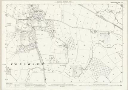 Worcestershire XLI.7 (includes: Pershore; Pinvin) - 25 Inch Map